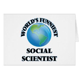 El científico social más divertido del mundo tarjeton