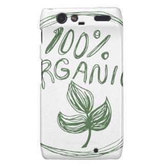 El ciento por ciento de orgánico droid RAZR funda