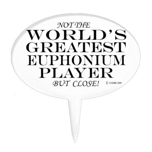 El cierre más grande del jugador del Euphonium Figura De Tarta