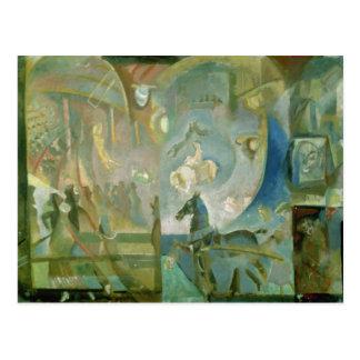 El circo, c.1910 postales