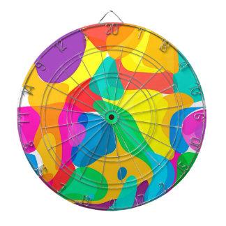 El circo colorea el modelo del arte abstracto del