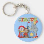 El circo está en camisetas y regalos de la ciudad llavero personalizado