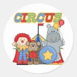 El circo está en camisetas y regalos de la ciudad pegatina