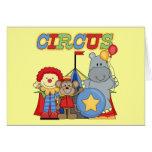 El circo está en camisetas y regalos de la ciudad tarjetas