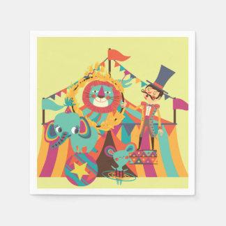 El circo está en las servilletas de papel del