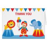 El circo le agradece cardar felicitacion