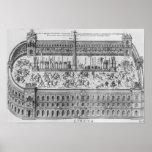 El circo Maximus en Roma, c.1600 Impresiones