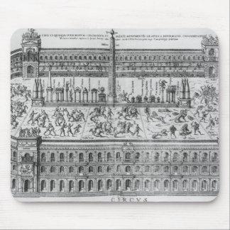El circo Maximus en Roma, c.1600 Tapetes De Ratones