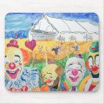 El circo Mousepad Tapetes De Ratones