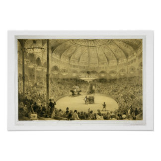 El circo nacional publicado por Auguste Bry ence Posters