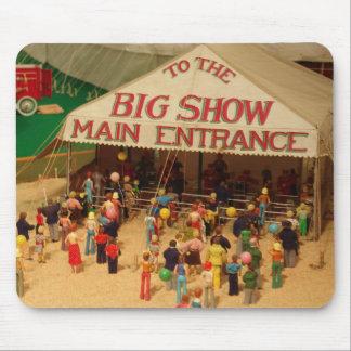 El circo viene a la ciudad alfombrilla de raton