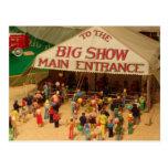 El circo viene a la ciudad postales