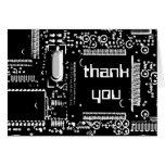 """El circuito B&W 2"""" le agradece"""" tarjeta de felicit"""