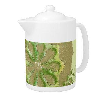 El CÍRCULO DAUBED DISEÑA el pote del té