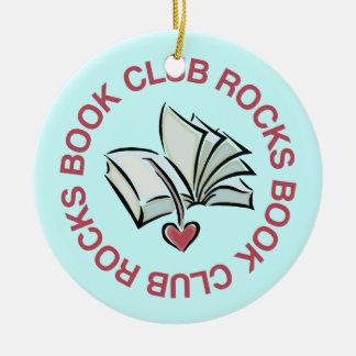 El círculo de lectores de la diversión oscila el r ornamento de navidad