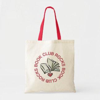 El círculo de lectores oscila el mini regalo de la bolsa tela barata