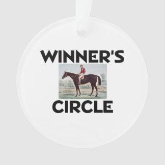 El círculo del ganador SUPERIOR