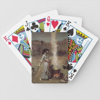 El círculo mágico [John William Waterhouse] Barajas De Cartas