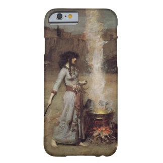 El círculo mágico [John William Waterhouse] Funda De iPhone 6 Barely There