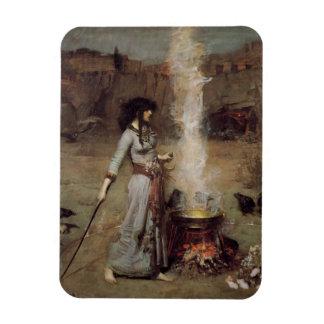 El círculo mágico [John William Waterhouse] Iman