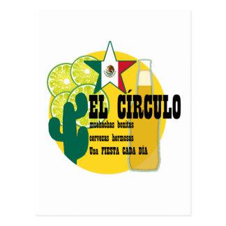 El Circulo Mexican Bar Postcard