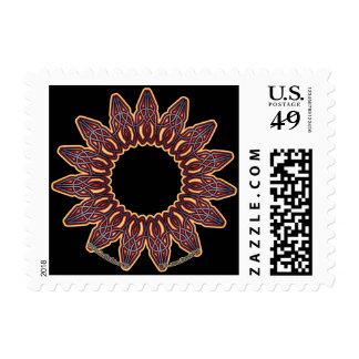 El círculo púrpura de Knotwork del Celtic sella #2 Envio