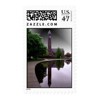 El círculo sello postal