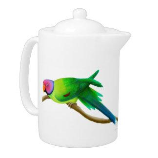 El ciruelo dirigió la tetera del Parakeet