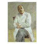 El cirujano, Fernando Sauerbruch, 1932 Tarjeta De Felicitación