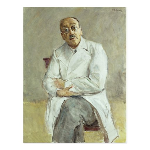 El cirujano, Fernando Sauerbruch, 1932 Tarjeta Postal