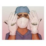 El cirujano - impresión cojinete