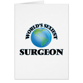 El cirujano más atractivo del mundo tarjeta
