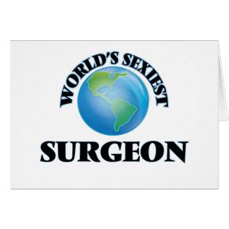 El cirujano más atractivo del mundo tarjeton