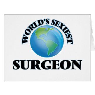 El cirujano más atractivo del mundo tarjetas