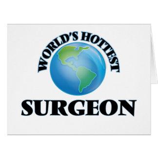 El cirujano más caliente del mundo tarjeta