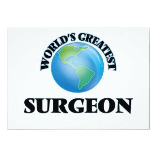 El cirujano más grande del mundo invitaciones personales