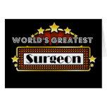 El cirujano más grande del mundo tarjeta