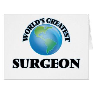 El cirujano más grande del mundo felicitacion