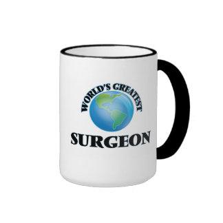 El cirujano más grande del mundo taza de dos colores