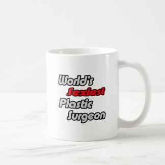 El cirujano plástico más atractivo del mundo taza de café