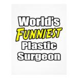El cirujano plástico más divertido del mundo plantillas de membrete
