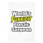 El cirujano plástico más divertido del mundo papelería