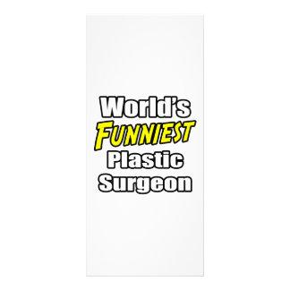 El cirujano plástico más divertido del mundo tarjetas publicitarias a todo color
