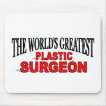 El cirujano plástico más grande del mundo alfombrillas de ratón