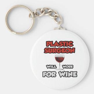 El cirujano plástico… trabajará para el vino llavero