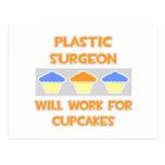 El cirujano plástico… trabajará para las magdalena tarjetas postales