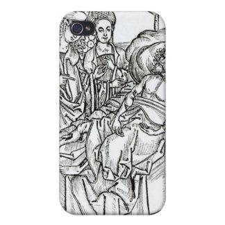 El cirujano y los ayudantes visitan a un hombre gr iPhone 4 cárcasas