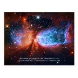 El cisne, nacimiento de la estrella en Cygnus de l Postal