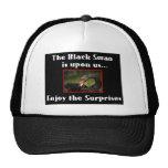 El cisne negro gorro de camionero