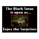 El cisne negro postal